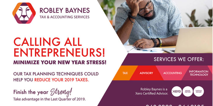 Reduce Your 2019 Taxes with Tax Saving Tips from the Pros at Robley Baynes Part 2