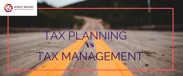 Tax Planning Vs Tax Management